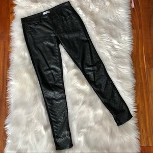 🚚EUC Faux quilted Leather Skinny Pants/legging